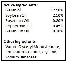 BioShield - Ingredients