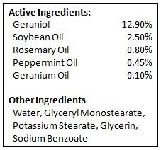 BioShield - Ingredients Large