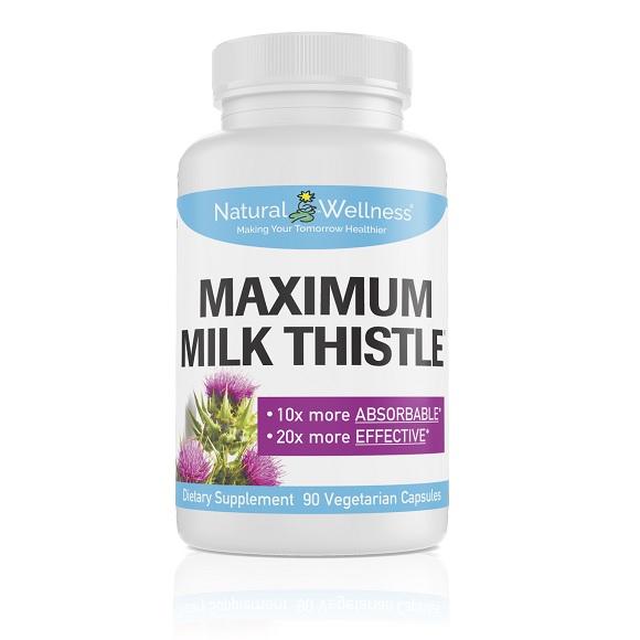 Maximum Milk Thistle - Bottle