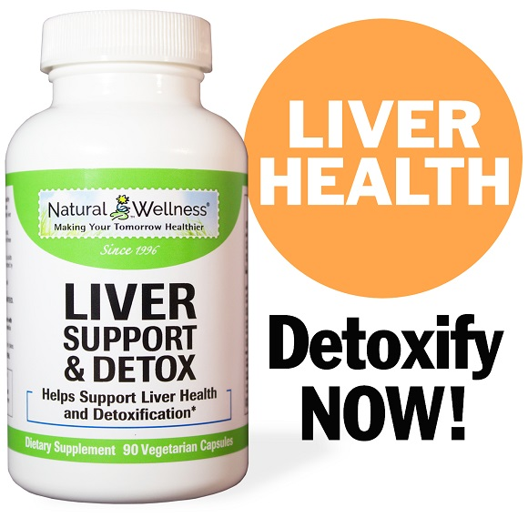 Liver Support & Detox - Bottle Large