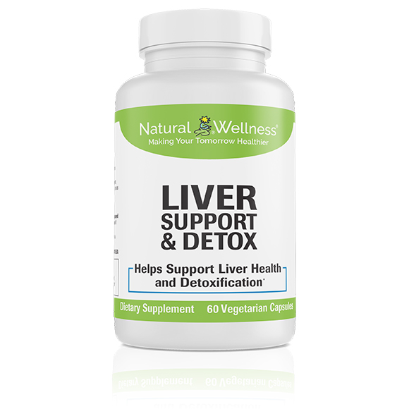 Liver Support & Detox Bottle