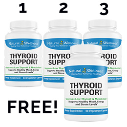 Thyroid Support Buy 3 Get 1 Free