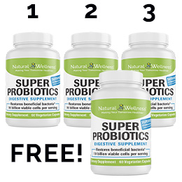 Super Probiotics Buy 3 Get 1 Free