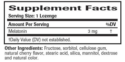 Fast Asleep Ingredients