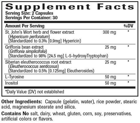 Healthy Mood Ingredients
