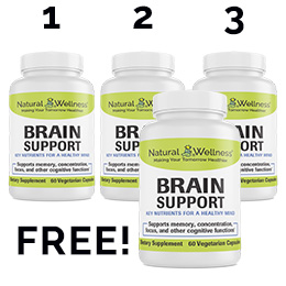 Brain Support Buy 3 Get 1 Free