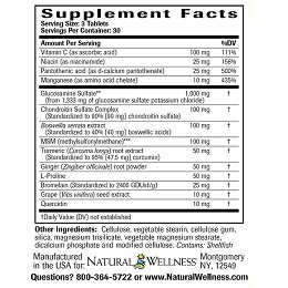 Joint Support - Supplement Facts