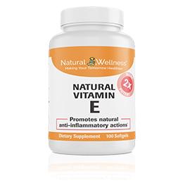 Natural Vitamin E - Bottle
