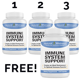 Immune System Support Buy 3 Get 1 Free