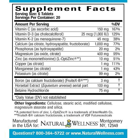 Healthy Bone Support - Label Large