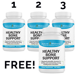 Healthy Bone Support Buy 3 Get 1 Free