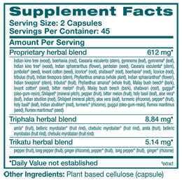 GlucoCare - Supplement Facts