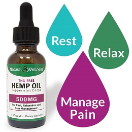 Hemp Oil - 500MG CBD Isolate