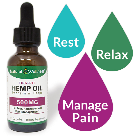 Hemp Oil - 500MG CBD Isolate Large