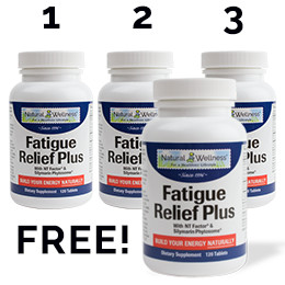 Fatigue Relief Plus® Buy 3 Get 1 Free