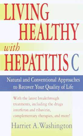 Living Healthy with Hepatitis C Book Large