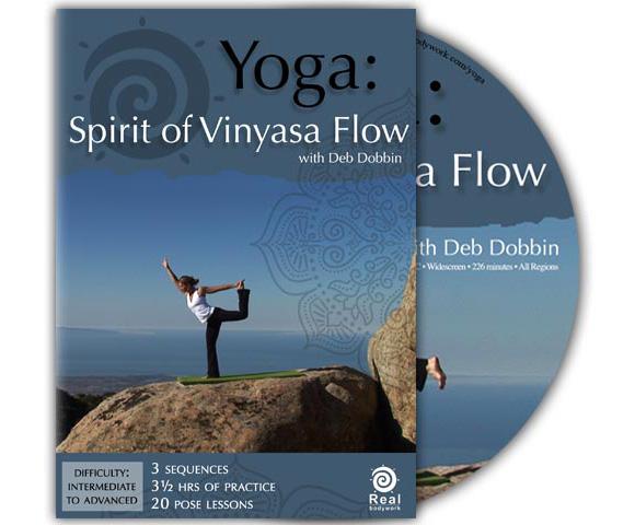 Yoga: Spirit of Vinyasa Flow DVD Large