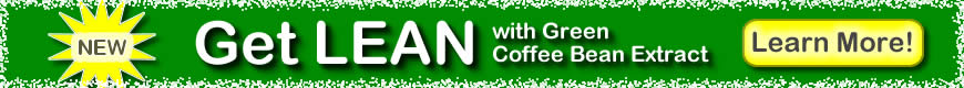 Get Lean with Green Coffee Bean Extract