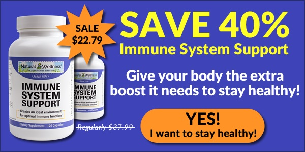 Save 40% on Immune System Support