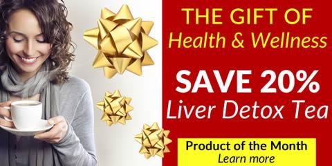 Save 20% on Liver Detox Tea