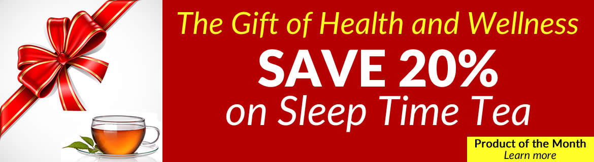 Save 20% on Sleep Time Tea
