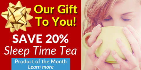 Save 20% on Sleep Time Tea