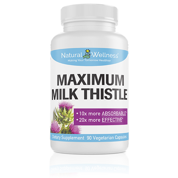 Maximum Milk Thistle - Bottle Large