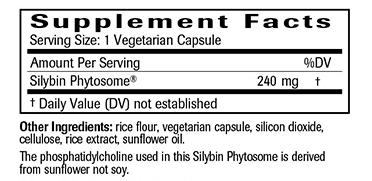 Maximum Milk Thistle Ingredients