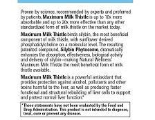 Maximum Milk Thistle - Label