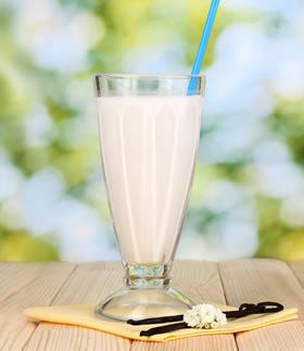 Glass of Vanilla Chai UltraNourish